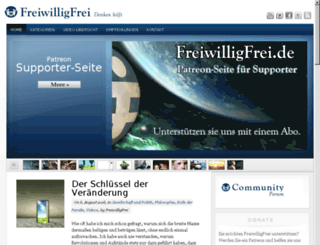 freiwilligfrei.de screenshot