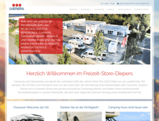 freizeit-store-diepers.de screenshot