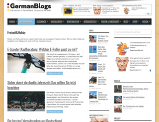 freizeit.germanblogs.de screenshot
