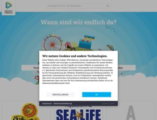 freizeitparks.de screenshot