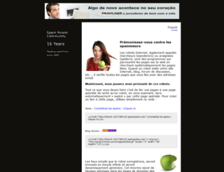 french-88790354718.spampoison.com screenshot