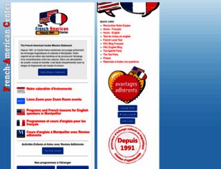frenchamericancenter.com screenshot