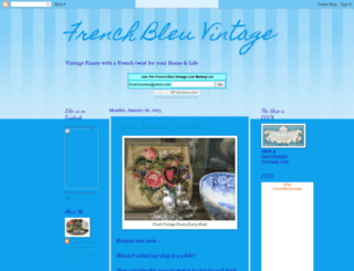 frenchbleuvintage.blogspot.co.uk screenshot