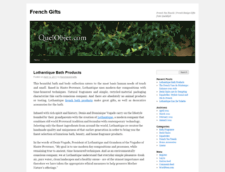 frenchdesigngifts.wordpress.com screenshot