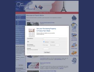 frenchdesire.com.au screenshot