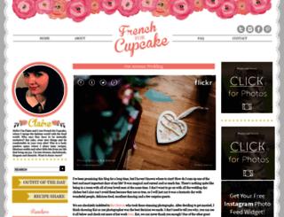 frenchforcupcake.com screenshot