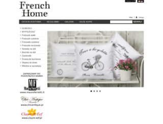 frenchhome.pl screenshot