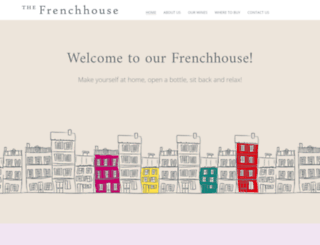 frenchhousevineyards.com screenshot