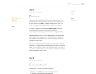 frenchleo.wordpress.com screenshot