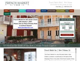 frenchmarketinn.com screenshot