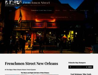 frenchmenstreetmusic.com screenshot