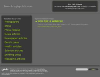 frenchrugbyclub.com screenshot