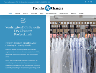 frenchscleaners.com screenshot