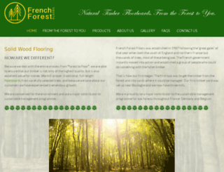 frenchtimberdirect.com screenshot