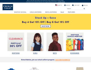 frenchtoast.com screenshot
