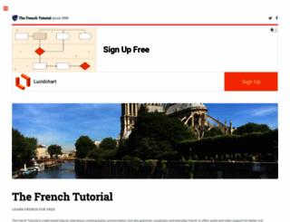 frenchtutorial.com screenshot