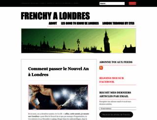 frenchyalondres.wordpress.com screenshot