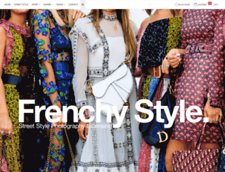 frenchystyle.fr screenshot