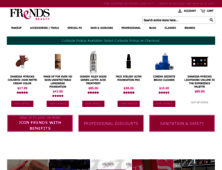 frendsbeauty.com screenshot