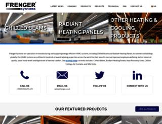 frenger.co.uk screenshot