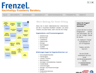 frenzel.consulting screenshot