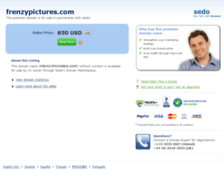 frenzypictures.com screenshot