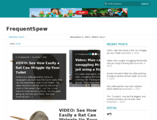 frequentspew.com screenshot