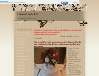 frescofoods.co.nz screenshot