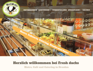 fresh-dachs-catering.de screenshot