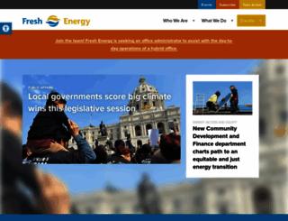 fresh-energy.org screenshot