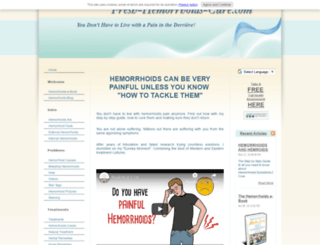 fresh-hemorrhoids-cure.com screenshot