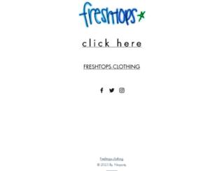 fresh-tops.com screenshot