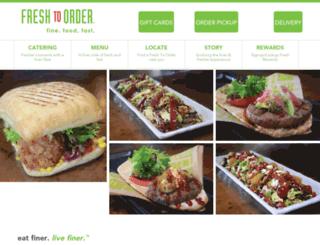 fresh2order.com screenshot