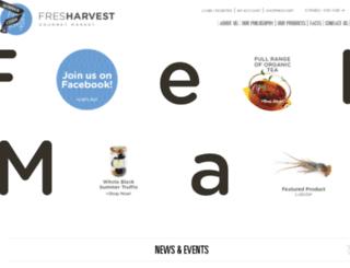 fresharvest.com screenshot