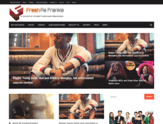 freshasfrankie.com screenshot
