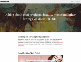 freshbeat.co.uk screenshot
