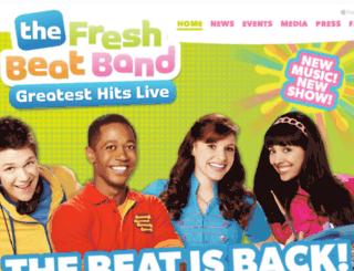 freshbeatbandlive.com screenshot