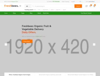 freshbees.com screenshot
