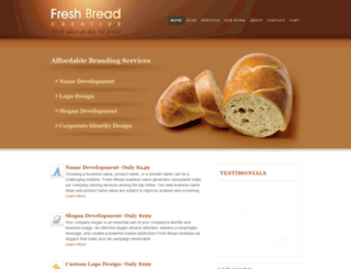 freshbreadcreative.com screenshot