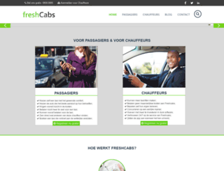 freshcabs.nl screenshot