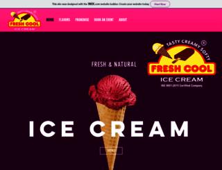 freshcool.in screenshot
