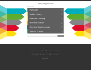 freshdesigner.com screenshot