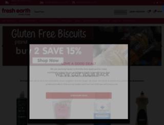 freshearth.co.za screenshot