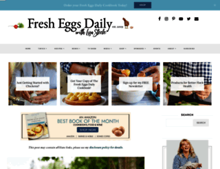 fresheggsdaily.com screenshot
