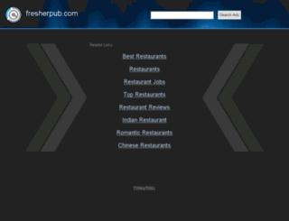 fresherpub.com screenshot