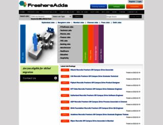 freshersadda.com screenshot