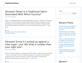 freshersonline.com screenshot