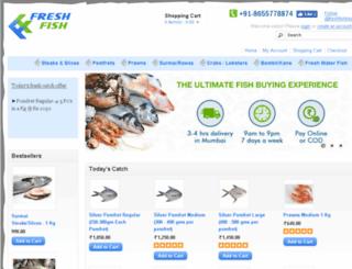 freshfishindia.com screenshot
