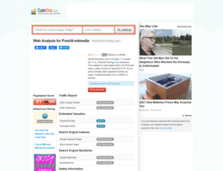 freshfrontmedia.com.cutestat.com screenshot