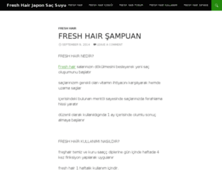 freshhair.info screenshot